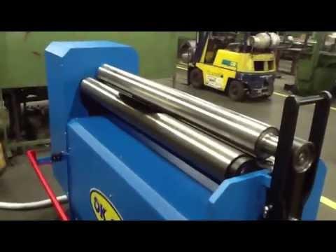 Plate roll / Sheet metal roller / Plate roll bending / Rundbiegemaschine Motor / Hengerítőgép