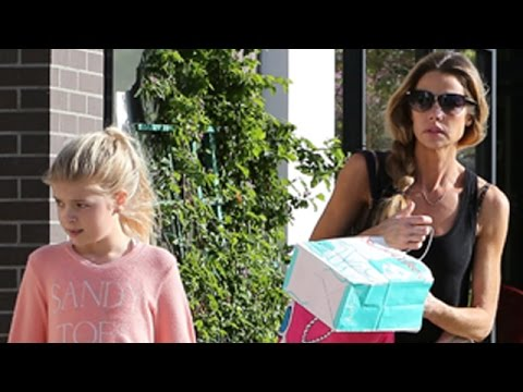 EXCLUSIVE - Denise Richards Calm As Charlie Sheen Files To Reduce Child Support