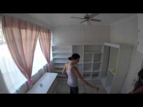 DIY building a Dressing Room for Katryn Barwise