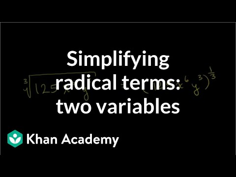 Rational exponents and exponent laws   Exponent expressions and equations   Algebra I   Khan Academy