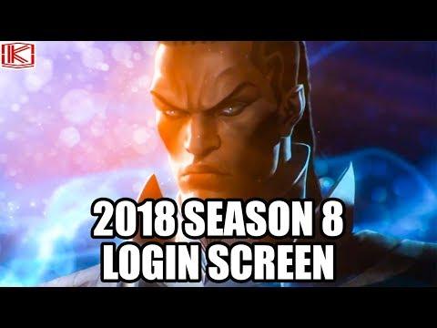 2018 SEASON 8 LOGIN SCREEN (Part 1) - League of Legends