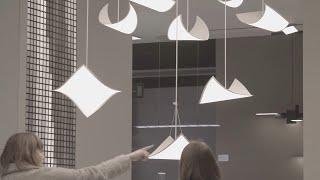 LG Display OLED light at Light+Building 2016