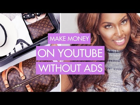 How To Make Money on YouTube Without Ads / Adsense | Small Channel Tips!