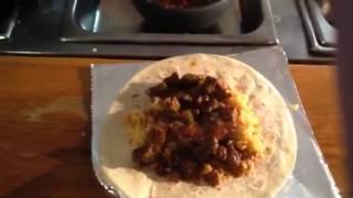 How To Make And Fold A Burrito