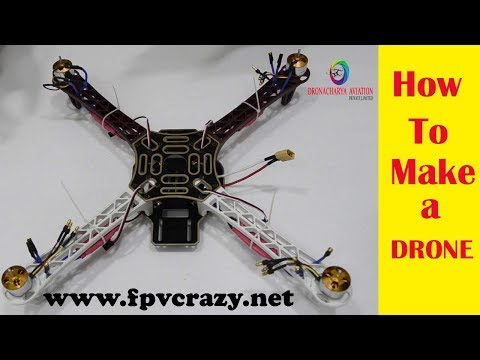 drone kaise banaye??  -how to make a drone at home (F450 quadcopter) in Hindi