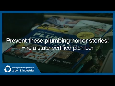 Prevent these plumbing horror stories! Hire a state-certified plumber