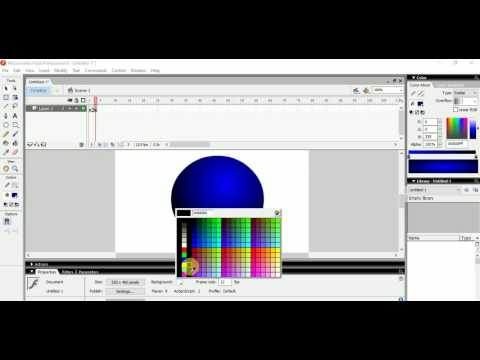 How to make a Disco Ball animation with Flash 8