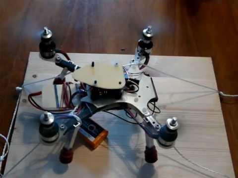 Nano Copter Hover Test