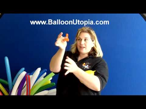 How To Make A Balloon Butterfly