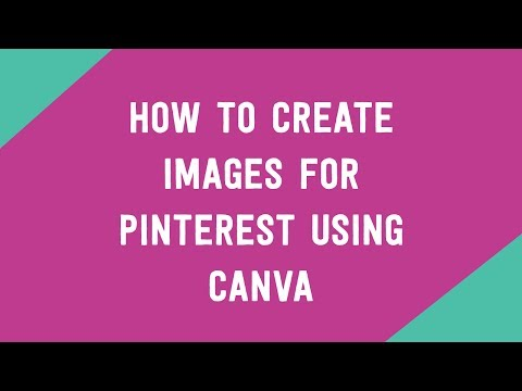 How to create long collage style images for Pinterest using Canva