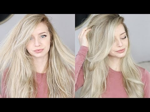 HOW TO: FAUX BLOWOUT HAIR TUTORIAL