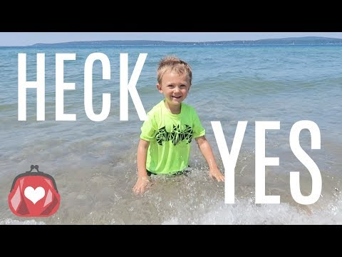 HECK YES TO ADVENTURE! ❤️ Travel Vlog with Kids! #puremichigan