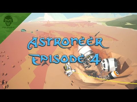 Astroneer Let's Play! Episode 4: Fuel Condenser, Trade Platform, and BEYOND!