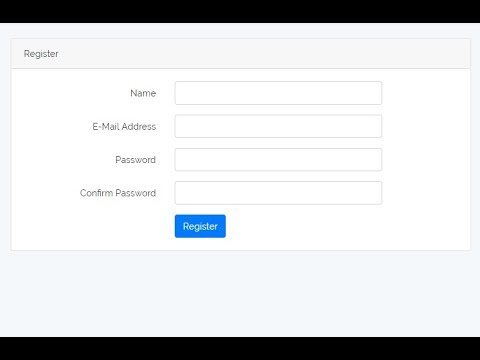 Email Verification 1 - Auth with Laravel [Part 11]