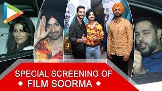 Chitrangda Singh, Badshah, Diljit Dosanjh and others @Special Screening of 'Soorma'