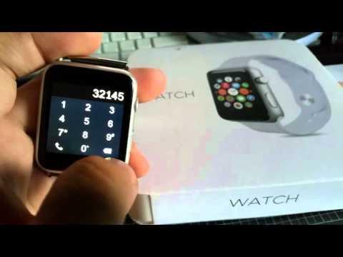 IWO MTK2502C Apple logo and watch face customized.