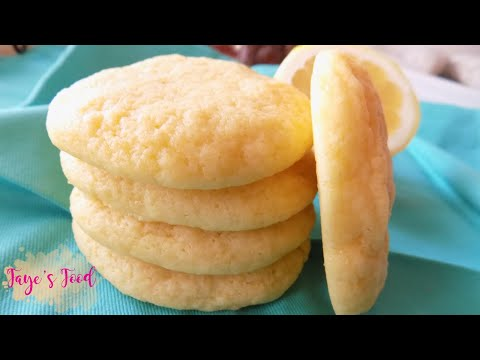 Soft and Chewy Lemon Cookies!