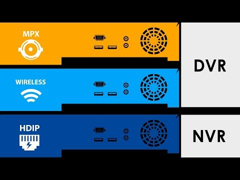 DVR vs NVR the main differences and comparing features