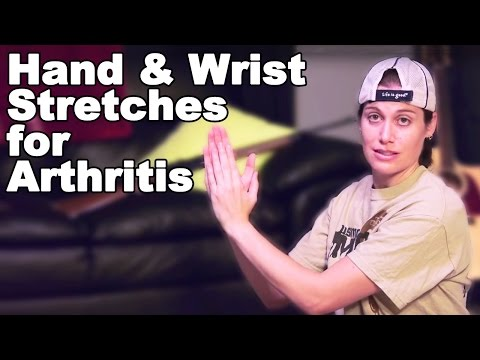 Hand & Wrist Stretches for Arthritis Pain Relief - Ask Doctor Jo