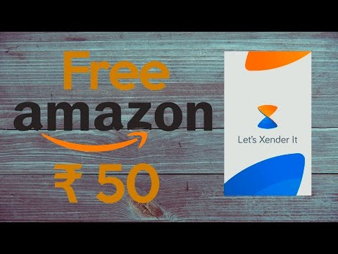 How to: Get Unlimited Amazon Vouchers - Xender App Offer