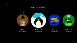 How To Delete Accounts On Xbox One
