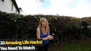 20 Amazing Hacks That You Need To See | Life Hacks 2021