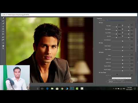 How To Make Facial Expression in photoshop.