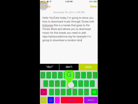 iOS 8 Cydia tweak download all songs from iTunes free