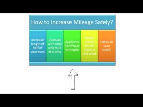 How to Increase Your Mileage When Running - The Right Way