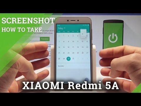 How to Take Screenshot on XIAOMI Redmi 5A - Capture Screen |HardReset.Info