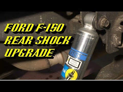 2004-2017 Ford F-150 Rear Shock Replacement: Featuring Bilstein 5100 Series Shocks