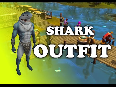 Runescape - Shark Outfits: BEST Fishing XP Ever! {Review]