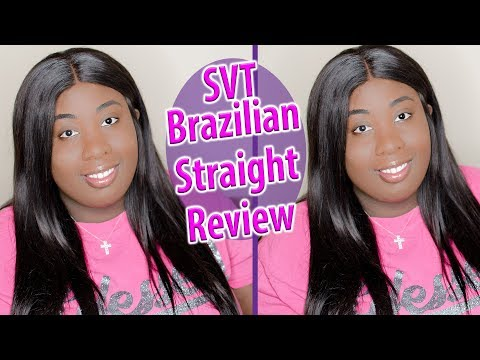 SVT Brazilian Straight Hair Review feat CharJenPro Charging Station