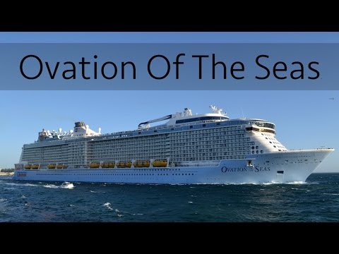 4th Biggest: Ovation Of The Seas departing Perth (Fremantle)