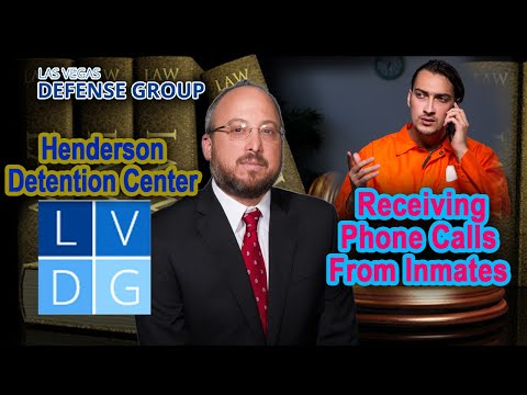Henderson Detention Center -  Receiving Phone Calls from Inmates