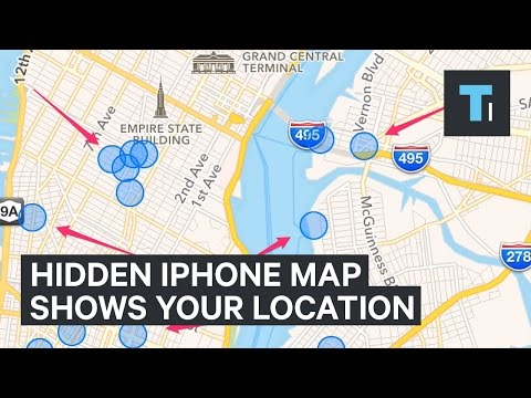 There's A Hidden Map In Your iPhone Of Everywhere You've Been