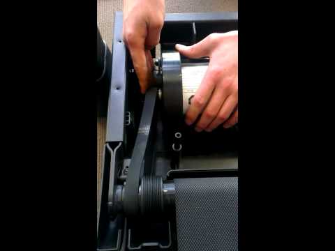 How to replace the Drive Motor Belt on Treadmills