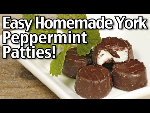 Homemade York Peppermint Patties - Easy Christmas Candy Recipe!