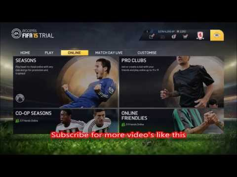 FIFA 15 - EA Access Early Play & Trial on Xbox One in 1080p HD