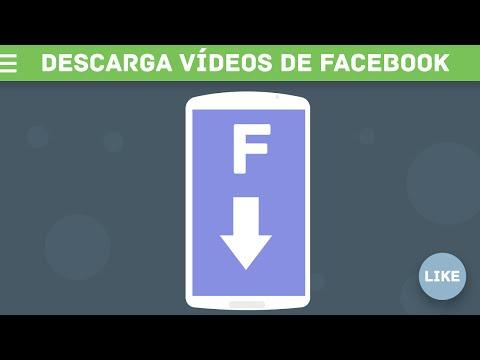 Descarga vídeos de Facebook desde Android Facil!