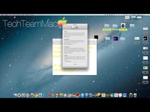 Get a clear dock on a mac|MistDesign
