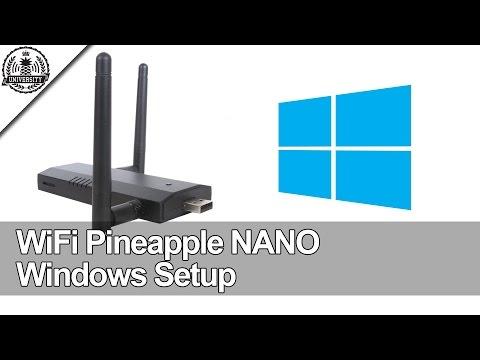 WiFi Pineapple NANO: Windows Setup