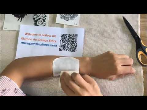 How to Use & Remove Temporary Tattoo - Tetattoo