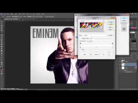 Photoshop CS6 Tutorial; How To Create A CD Cover Album Artwork
