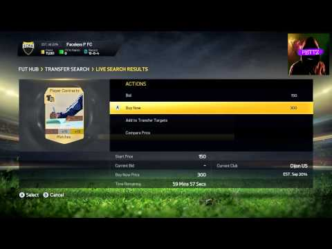 FIFA 15 ULTIMATE TEAM - TRADING WITH CONTRACTS!