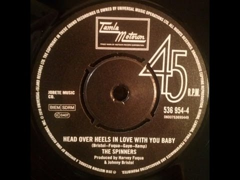 The Spinners - Head Over Heels In Love With You Baby