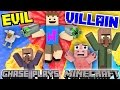 EVIL CHASE Plays MINECRAFT Revenge On The Village Destroyer FGTEEV Gameplay