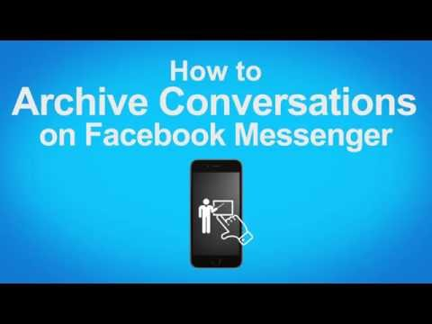 How to Archive Conversations on Facebook Messenger