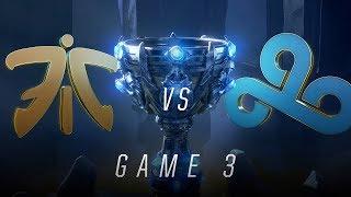 Download FNC vs C9 | Semifinal Game 3 | World Championship | Fnatic vs Cloud9 (2018) Video