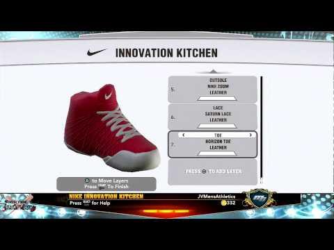 NBA 2K13 - Nike Signature Shoe Deal Design